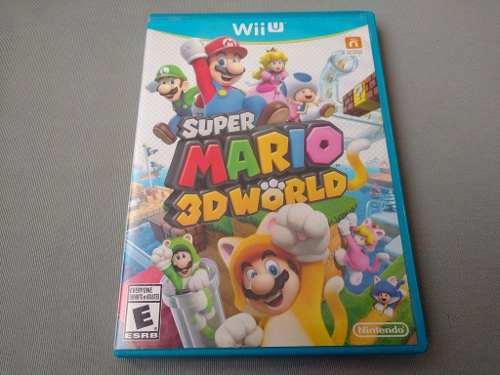 Super Mario 3d World Original Para Nintendo Wii U
