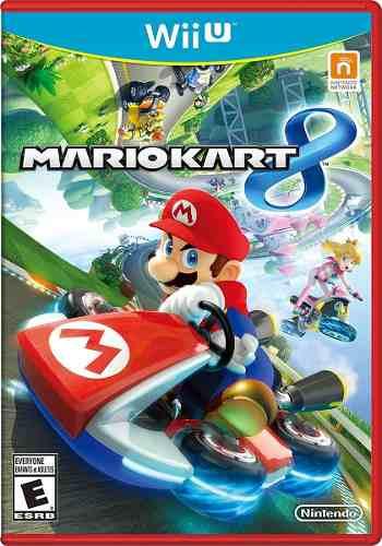 Wii U Juego Mario Kart 8 Nuevo Y Sellado