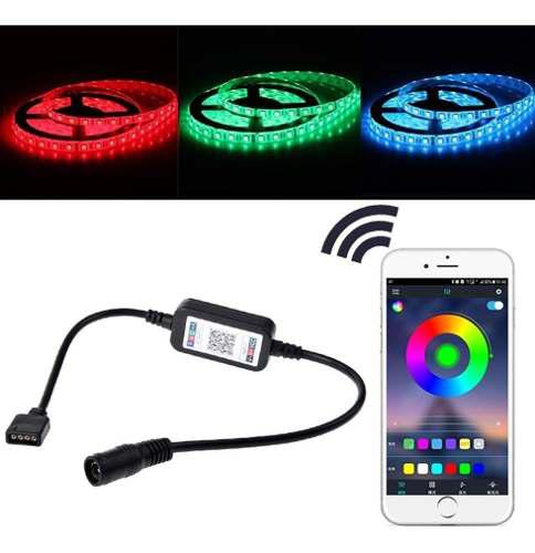 Controlador Bluetooth Para Tira Led Rgb 12v Android O Ios