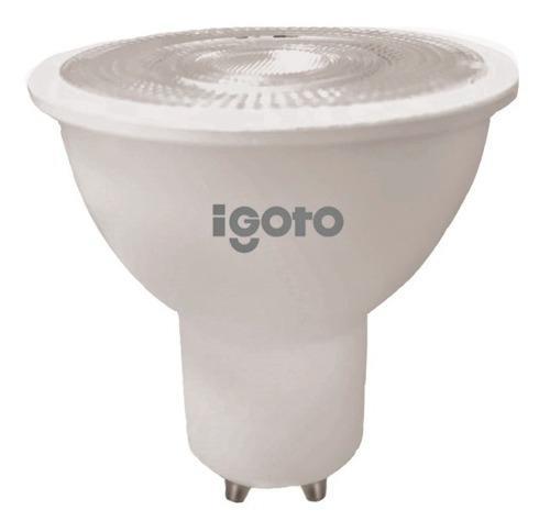 Foco Led Mr16 Gu5 7w Luz Calida 110a 500lm Igoto