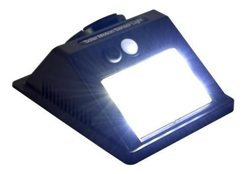 Lampara Energía Solar Leds Sensor De Movimiento Interior