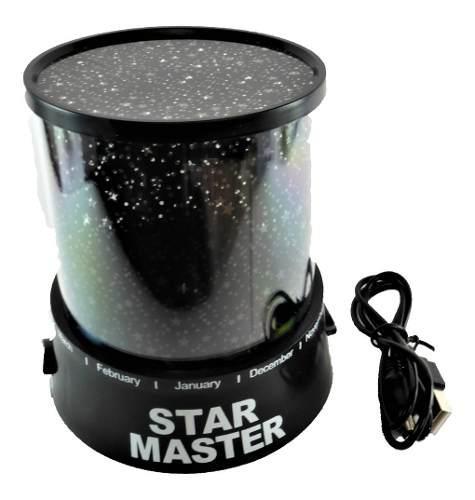 Lampara Led Colores Proyector De Estrellas Luz De Estrellas