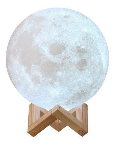 Lampara Luna 3d Nueva