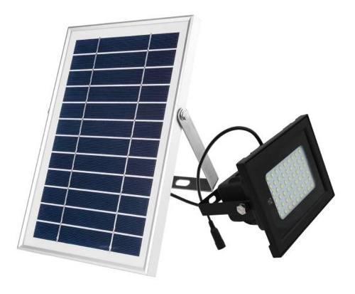 Lampara Solar 25 Watts, Reflector Solar 54 Leds, Garantía 5