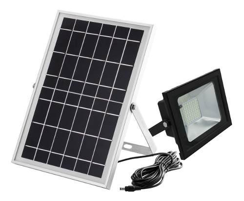 Lampara Solar, Reflector Solar 40 Watts, Garantía 5 Años.
