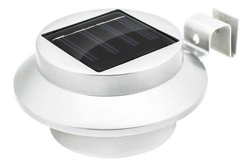 Lámpara Energía Solar Luz 3 Leds Exteriores Contra Agua!