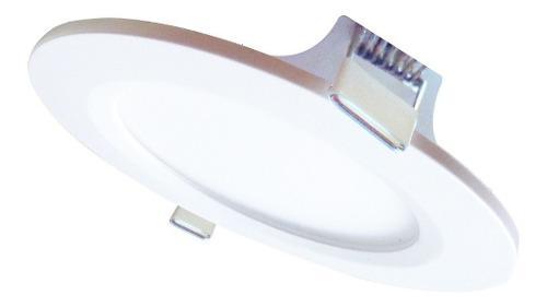 Lámpara Led Empotrable 7w Plafón Bote Integral 10 Cm Mbtd7