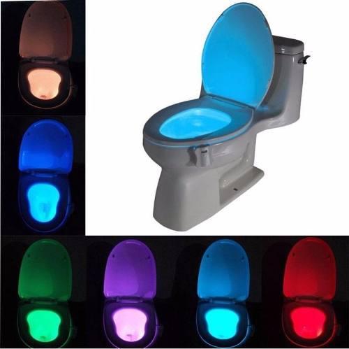Luz Led Con Sensor De Movimiento Para Taza De Baño O Casa