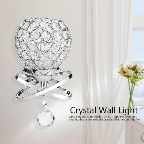 Moderno Cristal Pared De La Lámpara De Noche Noche Luz Dorm