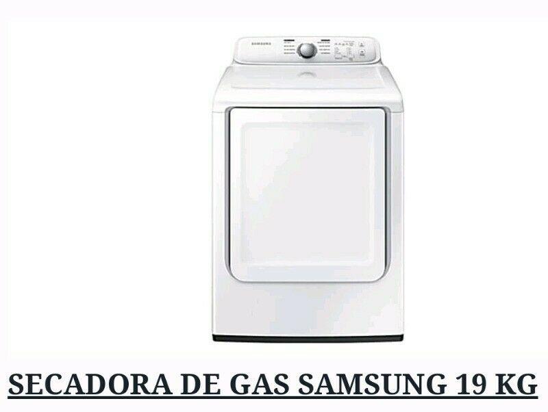 NUEVA SECADORA DE GAS 19KG MARCA SAMSUNG SIN USAR