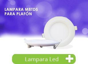 Panel Led Slim Empotrable Techo Spot 5w Lampara Foco Bc