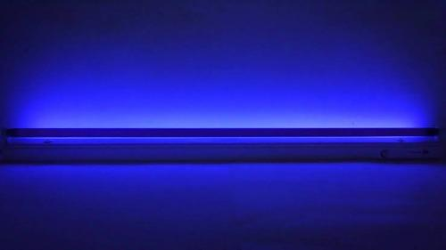 Paquete De 4 Lamparas Led Luz Negra Azul