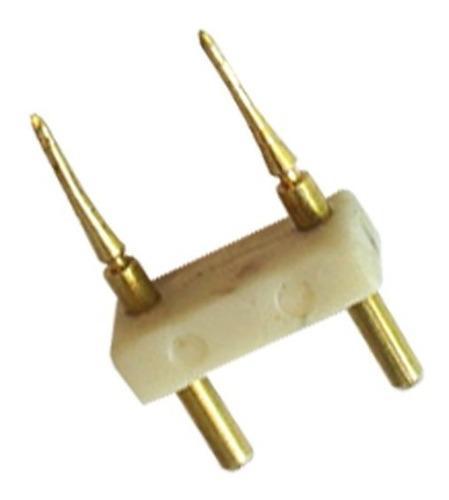 Pin Conector Tunelight Para Tira Led A 127v 5050 Empalmador