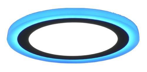 Plafon Sobreponer De Led 18w + 6w Multicolor (pack C/2)