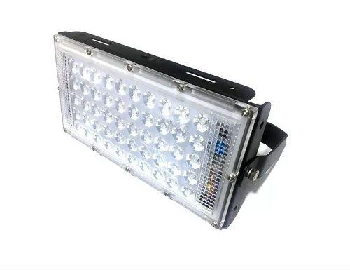 Reflector Led 50w Luminario Potente Iluminación Ultra