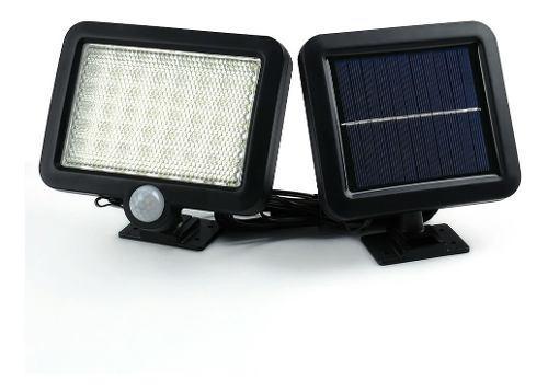 Reflector Led Solar Lampara Recargable Sensor 500 Lumens