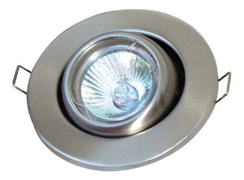 Spot Base Empotrable Dirigible Para Foco Mr16 Led Yd-345/s