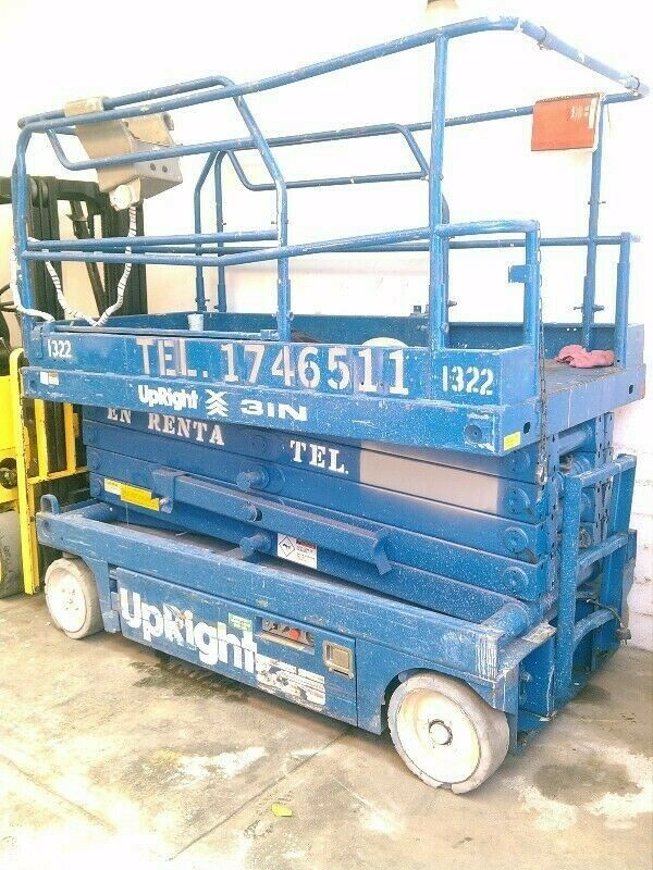 renta de plataforma de elevacion tipo tijera