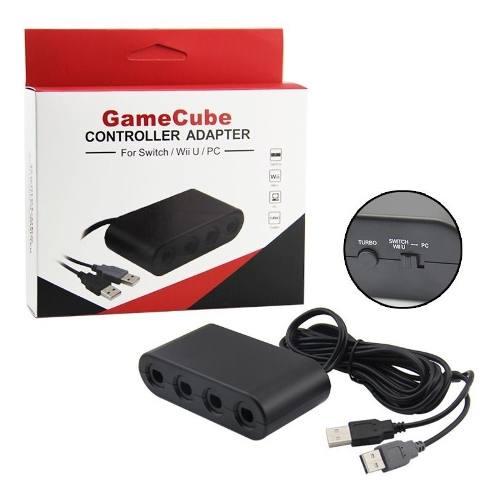 Adaptador De Controles Gamecube Para Nintendo Switch