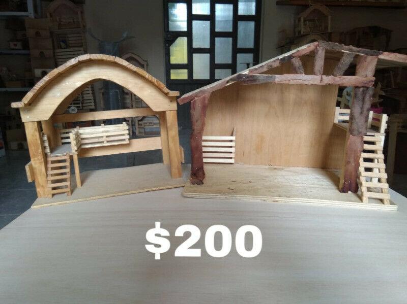 Artesanías de madera