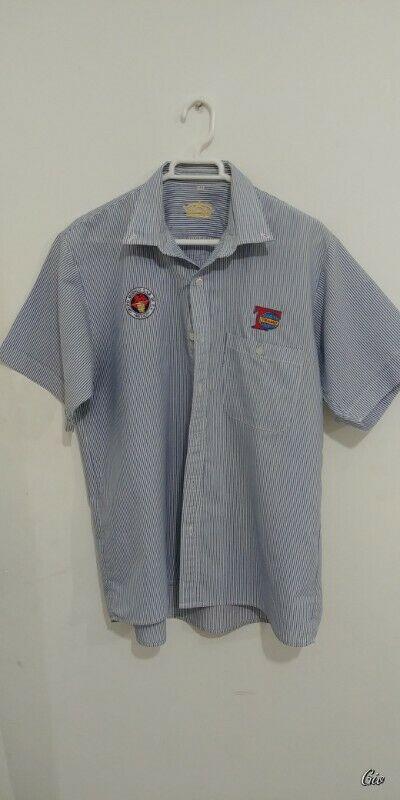 Camisa manga corta para hombre (con logotipos de empresa),
