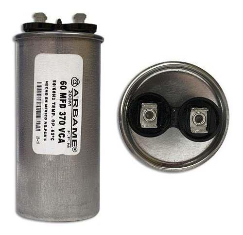 Capacitor 60 Mf / 370-450v Mini Split Todas Las Marcas