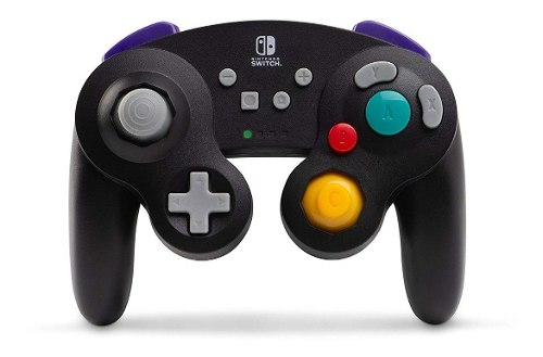 Control Negro Inalambrico Gamecube Para Nintendo Switch