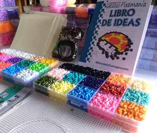 Estuche Con 20mil Beads Mini 2.6mm Base Pinzas Accesorios M3