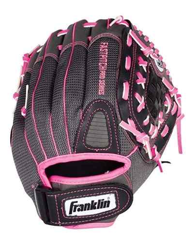 Guante 12 Franklin Juvenil Softball Softbol Rosa Fastpitch