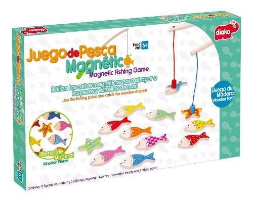 Juego De Pesca Magnético Juguete Para Niños