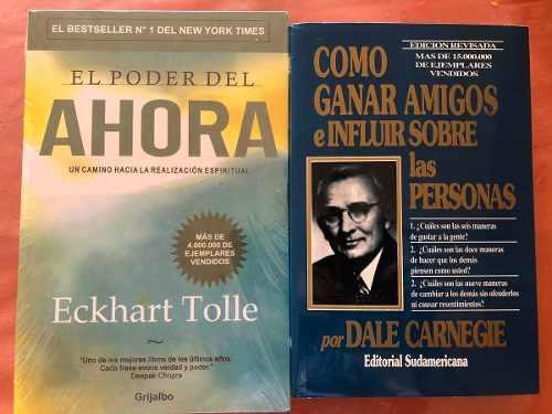 Libros El Poder Del Ahora Y Como Ganar Amigos E Influir S.