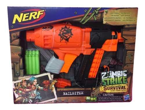 Nerf Nailbiter Zombie Strike Survivor Hasbro