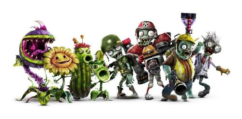 Plantas Vs Zombies,pvc 10 Figuras
