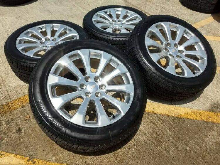 Rines 22 Chevrolet / GMC High Country Originales con llantas