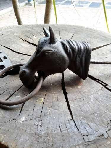 Antigua Cabeza De Caballo Para Amarrar Caballos #1;