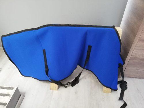 Camisa Cobija Para Caballo De Neopreno Azul Rey