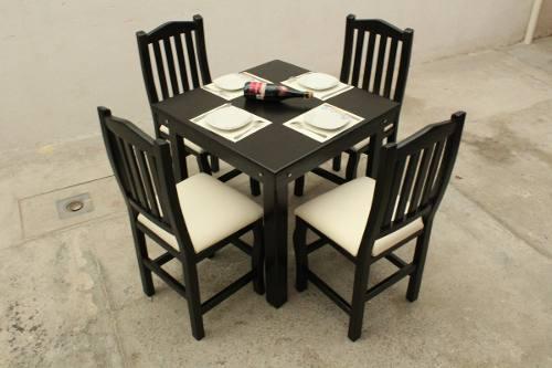 Comedor Moderno Minimalista Vintage Elegante 4 Personas