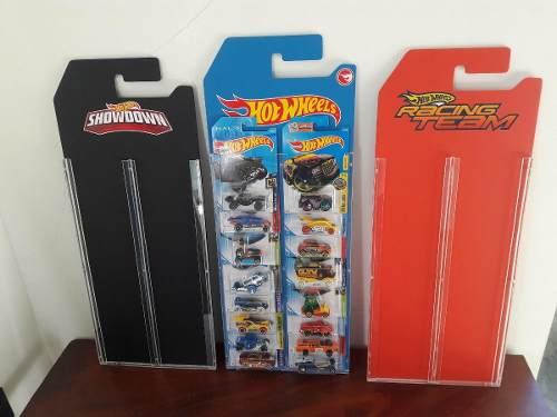 Exhibidor - Coleccionador Hot Wheels 14 Autos Blister -riel-