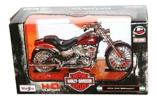 Harley Davidson  Cvo Breakout Nueva Escala 1:12 Maisto