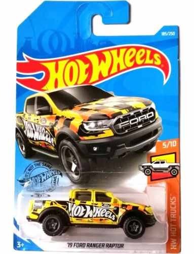 Hot Wheels 19 Ford Ranger Raptor Hw Hot Trucks