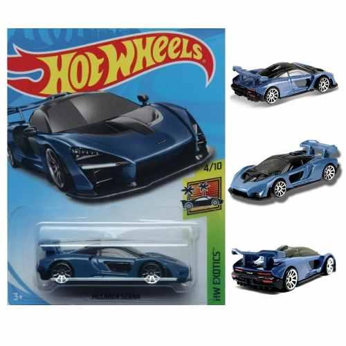 Hot Wheels Mclaren Senna Forza Horizon 4 Hw Exotics