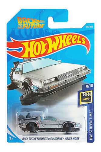 Hot Wheels Volver Al Futuro Hover Mode Hw Screen Time