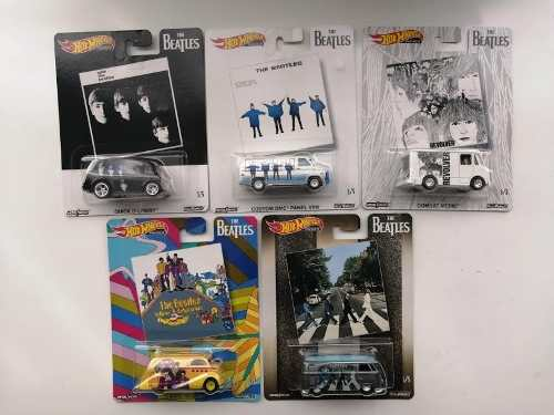 Hotwheels Premium The Beatles Serie 5 Pz Pop Culture
