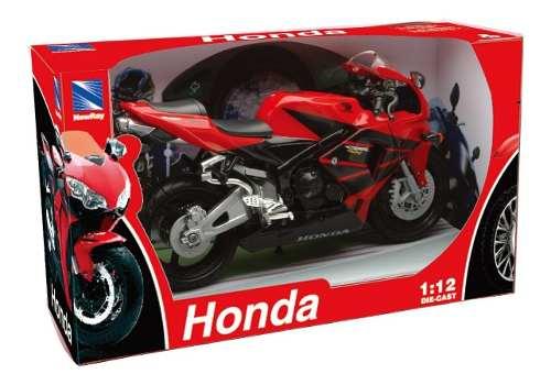 Moto De Colección Honda Cbr600rr Escala 1:12 Newray Rojo
