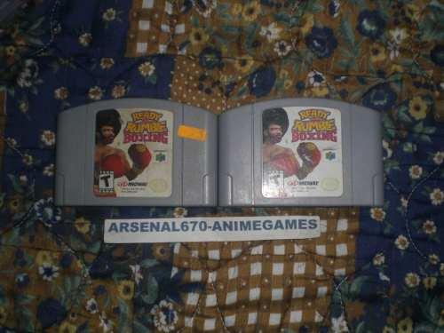 Nintendo 64 Ready Rumble Boxing 2 Box N64