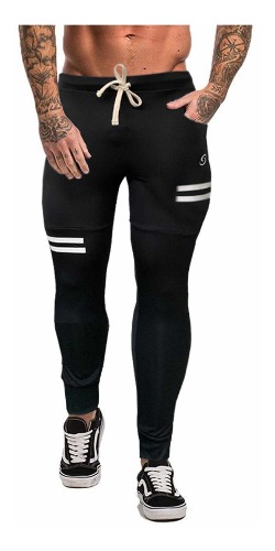 Pants Jogger Deportivos Gym Elásticos Corte Slim Fit De
