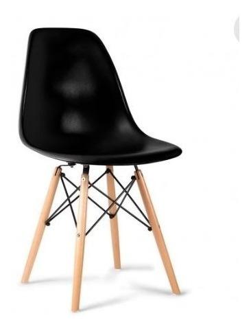Silla Replica Eames - Negro