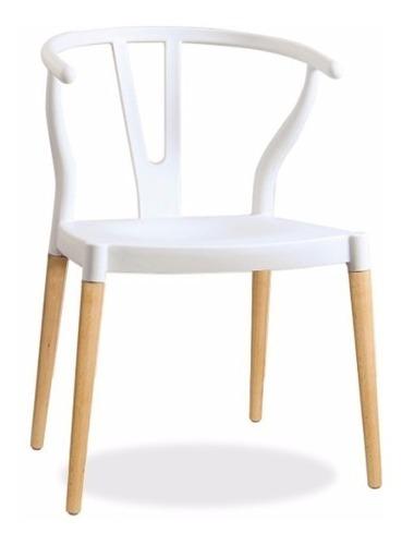 Silla Wishbone Modern Style - Blanca - Promoción!