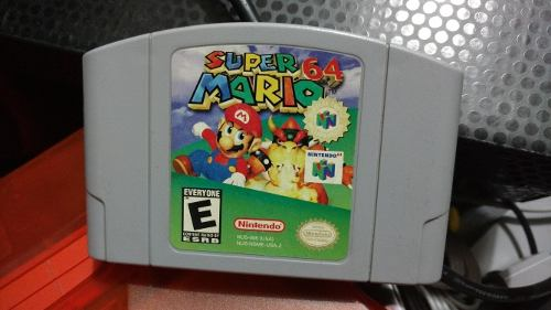 Super Mario 64 Original Excelente Estado De Colección