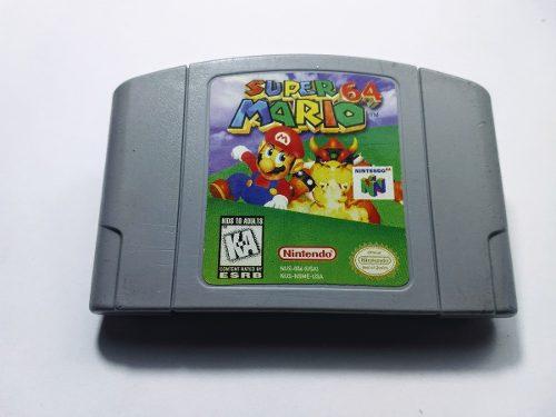 Super Mario 64 Original N64 Cartucho